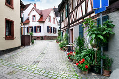 Street of the old town Royalty Free Stock Photo