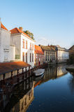Street of old town, Bruges Stock Image