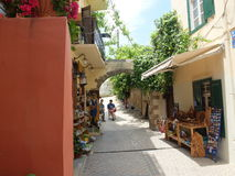 Street of the Old town Stock Image