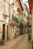 Street in the old town. Coimbra. Portugal Stock Photography