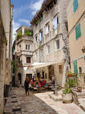Street in old town Kotor, Montenegro Stock Photography