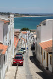 Street in old town of Lagos, Portugal Stock Image
