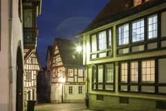 Street in town Limburg, Germany Stock Photography