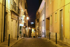 Street in the old town of Lisbon Royalty Free Stock Photography