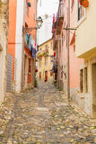 Street in old town of Lisbon Royalty Free Stock Photos