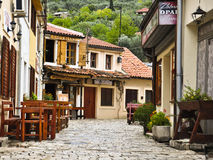Street of old town in Montenegro Royalty Free Stock Photography