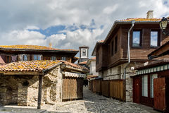 Street in old town. Nesebar, Bulgaria Stock Photo