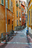 Street the old town of Nice Royalty Free Stock Photo