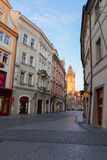 Street in old town, Prague Royalty Free Stock Photo
