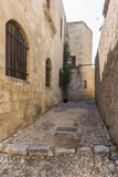 Street in Old Town, Rhodes Royalty Free Stock Photo