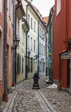 Street in the old town of Riga Stock Photography