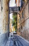 Street in old town Risa, Italy Royalty Free Stock Photos