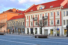 Street in the old town of Vilnius Stock Photography