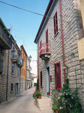 Street in old village Royalty Free Stock Image