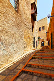 Street in old Yafo Stock Photos