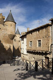 Street of Olite Royalty Free Stock Photography