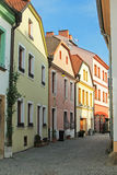Street of Olomouc Royalty Free Stock Images
