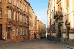 Street of Olomouc Royalty Free Stock Photo