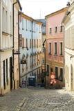 Street of Olomouc Stock Image