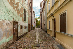 Street in Olsztyn, Poland Royalty Free Stock Photography