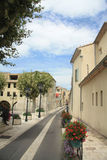 Street in Orange, France Royalty Free Stock Image