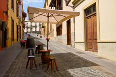 Street of Orotava, Tenerife Royalty Free Stock Image