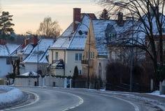 Street in Oslo Royalty Free Stock Photos