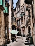 Street in Otranto in Italy royalty free stock photos