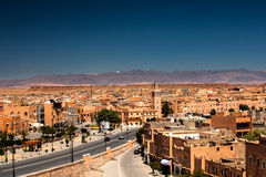 Street in Ouarzazate Royalty Free Stock Images