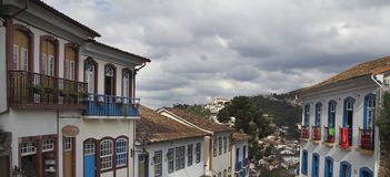 Street in Ouro Preto Royalty Free Stock Images