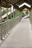 Street overpass for pedestrians. In thailand Royalty Free Stock Photo