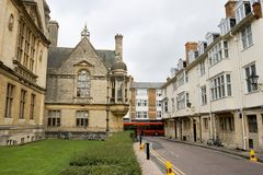 Street in Oxford. UK Stock Photography