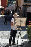 Street painter Stock Photo