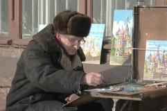 Street painter Royalty Free Stock Photo