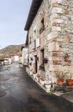 Street of Pajares Stock Image