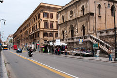 Street of Palermo Royalty Free Stock Photography