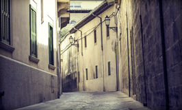 Street in Palma de Mallorca, Spain Royalty Free Stock Photo