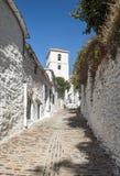 Street of Pampaneira Stock Photo