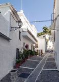 Street of Pampaneira Royalty Free Stock Photo
