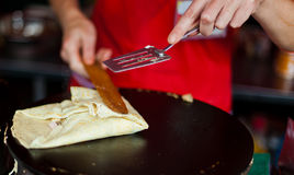 Street pancake Royalty Free Stock Photo
