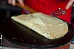 Street pancake Stock Images