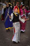Street parade participant