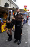 Street Parade Zuerich Stock Photo