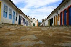Street in Parati Stock Photos
