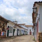 Street in Paraty, Brazil Stock Photography