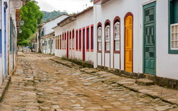 Street of Paraty Royalty Free Stock Images