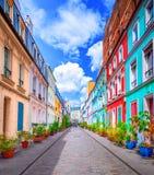 Street in Paris stock photos