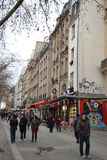 Street in Paris Stock Photography