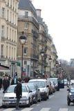 Street in Paris Royalty Free Stock Photos