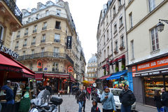 Street in Paris Royalty Free Stock Images